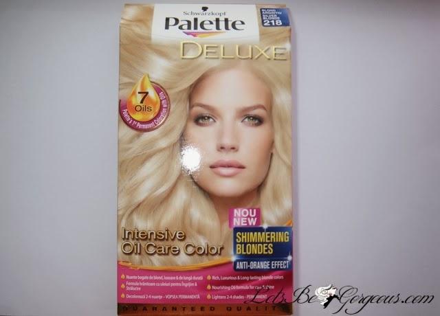 Vopsea Palette Deluxe Blond Argintiu Părerea Mea Despre Ea și Poze