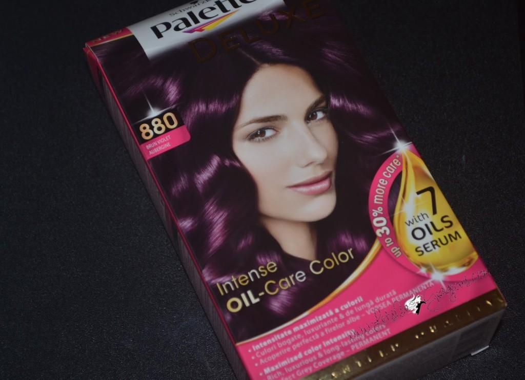Vopsea De Păr Palette Deluxe 880 Brun Violet Lets Be Gorgeous