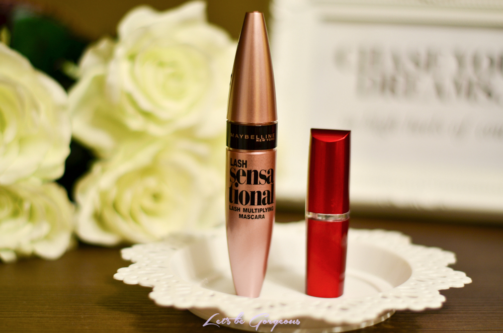 Review Maybelline Lash Sensational și Ruj Hydra Extreme Lets Be